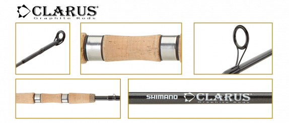 Shimano CLARUS Spinning  2,58 м 10 -21гр.